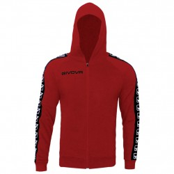 GIVOVA Jaka FELPA FULL ZIP BAND BA10